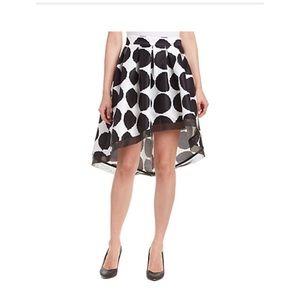 Brand new Gracia asymmetric A-line midi skirt